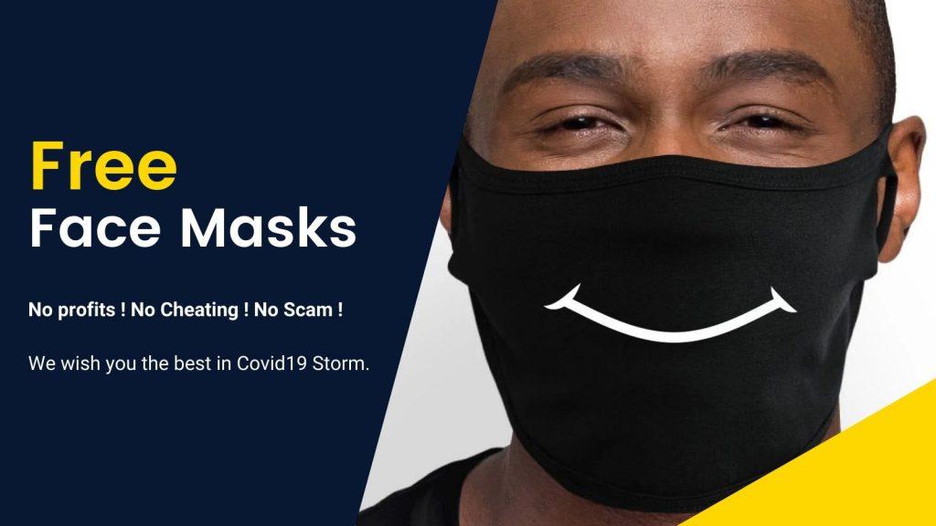 Free Mask Banner 2 - KAZI Block