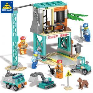 KAZI / GBL / BOZHI KY80457-4 City Engineering: Engineering General Command Engineering construction site, engineering demolition site, engineering shed, engineering maintenance shed 0