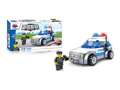 KAZI / GBL / BOZHI KY98305 Thunder Police: City Police 0