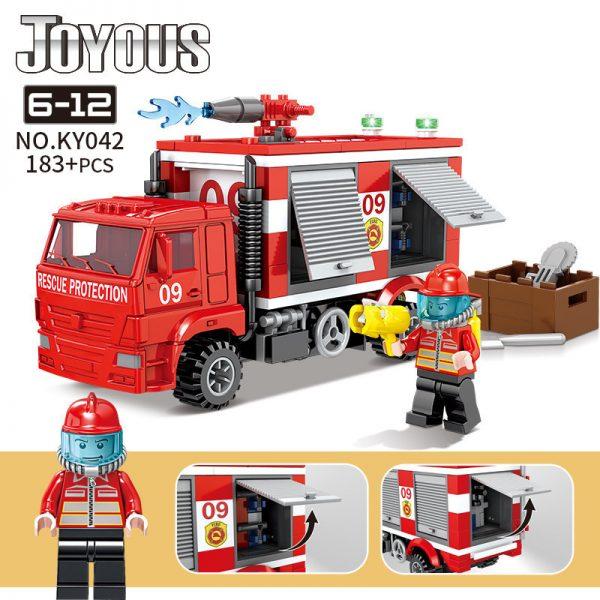 KAZI / GBL / BOZHI KY042 Smart Fire: Fire fighting fire engine 0