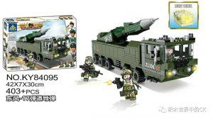 KAZI / GBL / BOZHI KY84095 National Eagle: Dongfeng-17 Ballistic Missile 0