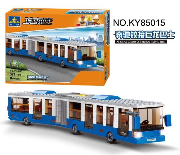 KAZI / GBL / BOZHI KY85016 City Bus: Mercedes-Benz Articulated Dragon Bus 0