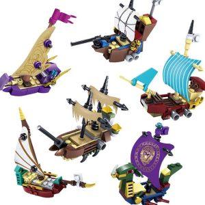 KAZI / GBL / BOZHI KY87024-4 Narnia Legends: Boat 6 0