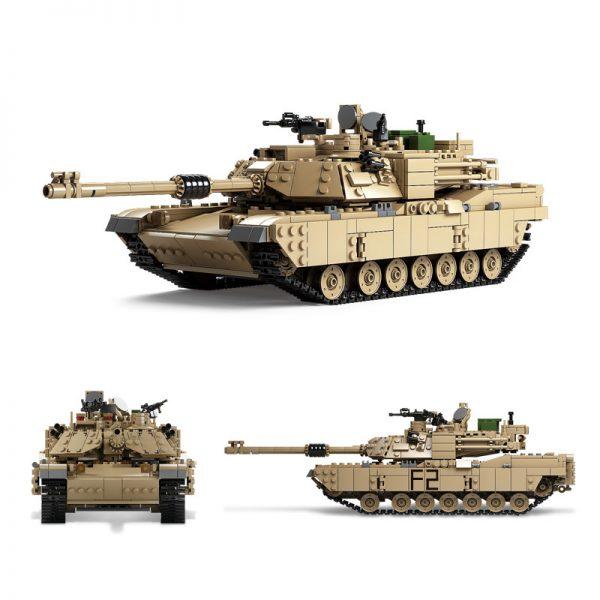 KAZI / GBL / BOZHI KY10000 Abrams Main Battle Tank M1A2 0