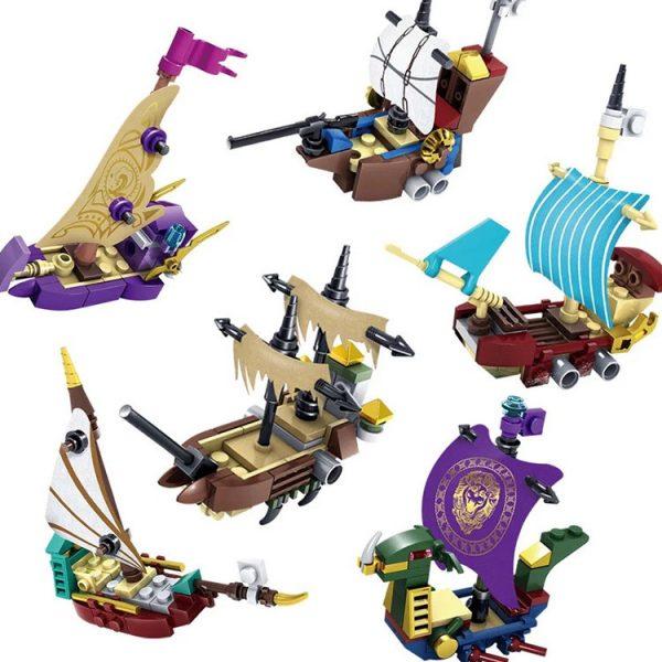 KAZI / GBL / BOZHI KY87024-1 Narnia Legends: Boat 6 0