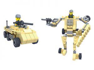 KAZI / GBL / BOZHI KY98111-4 Transformer Armor: Pioneer War Wing Condor, White Man's Heart, War God, Justice Allied Aurora, King of Land Warfare 0