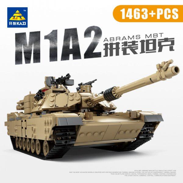 KAZI / GBL / BOZHI KY10000 Abrams Main Battle Tank M1A2 1
