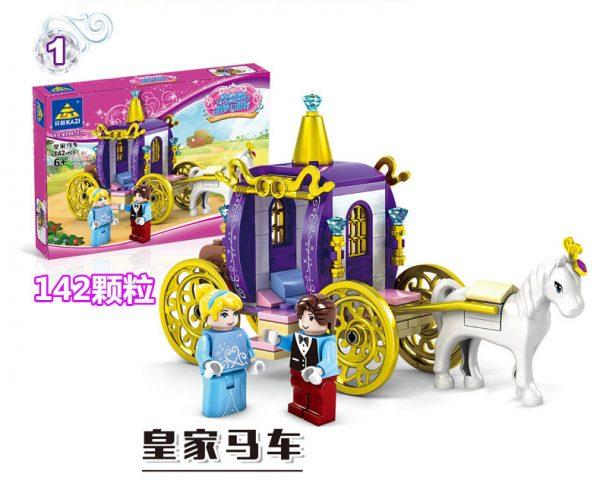 KAZI / GBL / BOZHI 98707-2 Cinderella's Dreamworld Carriage 4 1