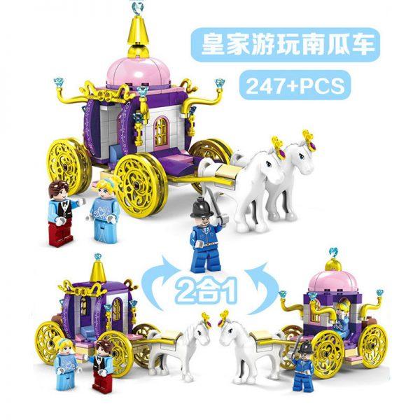 KAZI / GBL / BOZHI 98707-4 Cinderella's Dreamworld Carriage 4 5