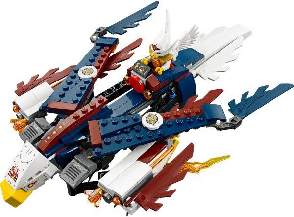 KAZI / GBL / BOZHI 98076 Qigong Legends: Eagle Jess's FireEagle Flying Machine 3