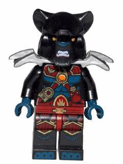 KAZI / GBL / BOZHI 98075 Qigong Legend: Tiger Staff's two-sided black fire chariot 8