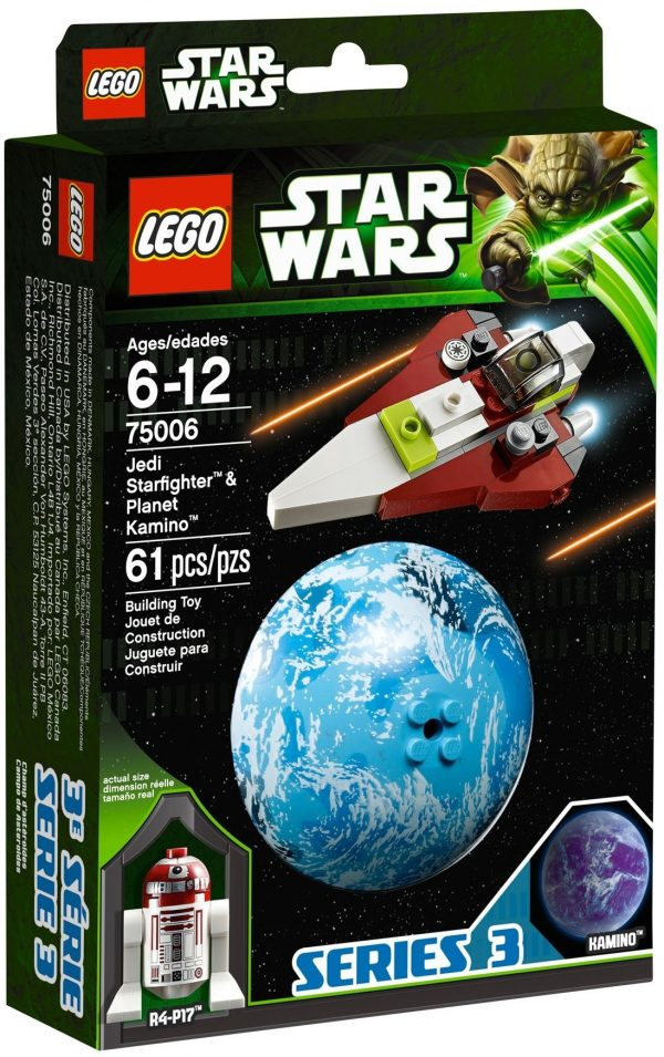 KAZI / GBL / BOZHI 98077 Jedi Starfighter and Carmino Planet 1
