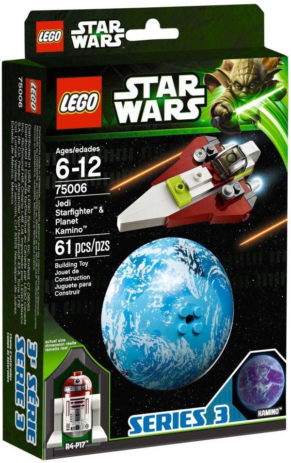 KAZI / GBL / BOZHI KY88011 Jedi Starfighter and Carmino Planet 1
