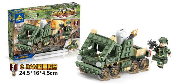 KAZI / GBL / BOZHI KY84056-3 Field Force: V2 Anti-Missile System 1