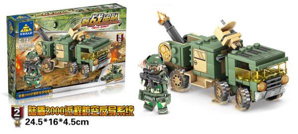 KAZI / GBL / BOZHI KY84056-3 Field Force: V2 Anti-Missile System 2