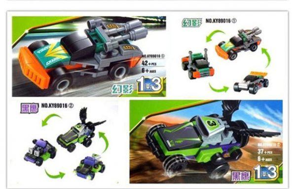 KAZI / GBL / BOZHI KY89016-3 Ultimate Racing: Boeing Racing 4 Combinations 2