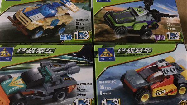 KAZI / GBL / BOZHI KY89016-3 Ultimate Racing: Boeing Racing 4 Combinations 5