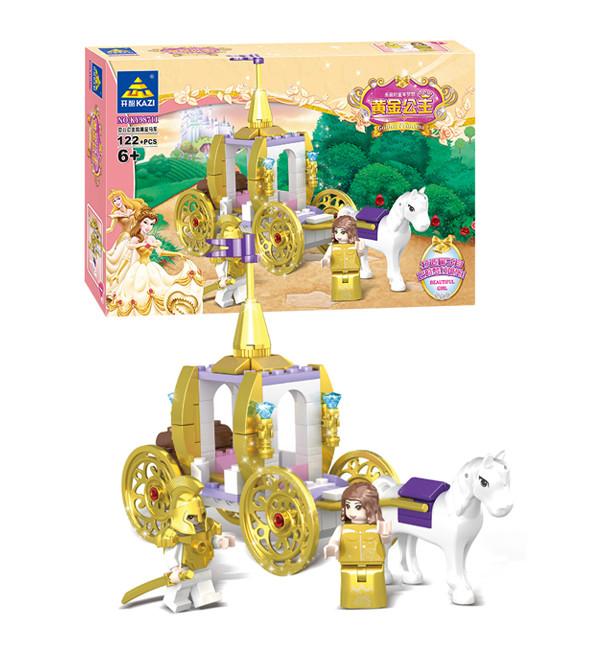 KAZI / GBL / BOZHI KY98711 Golden Princess: Dream Golden Castle 2