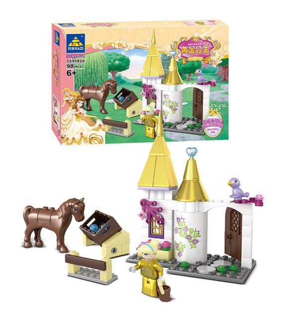 KAZI / GBL / BOZHI KY98711 Golden Princess: Dream Golden Castle 5