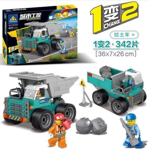 KAZI / GBL / BOZHI KY90454 City Project: Heavy-duty earth-pulling dump trucks, large loaders 1
