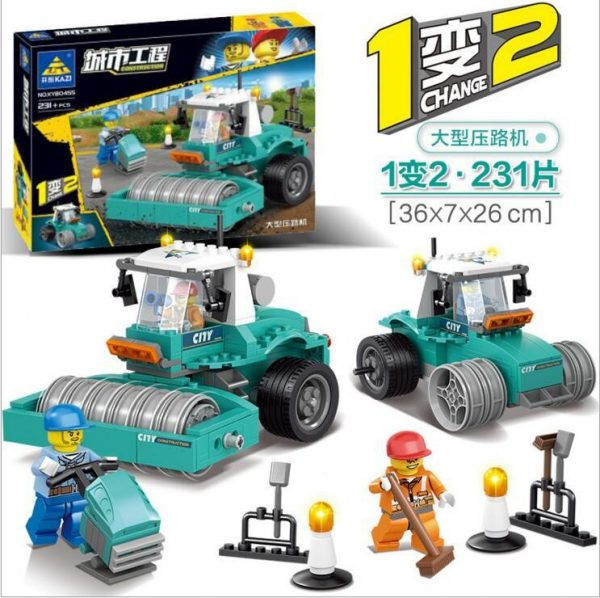 KAZI / GBL / BOZHI KY90455 City Project: Light Tractors, Large Rollers 1
