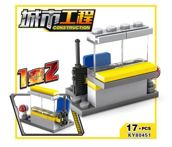 KAZI / GBL / BOZHI KY80451 City Project: City Construction Team 16 Complex 12