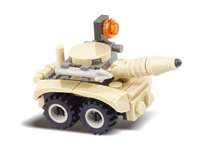 KAZI / GBL / BOZHI KY84017 Field Troops: Rocket Commando assault vehicles, wheeled combat vehicles, etc. 4 2