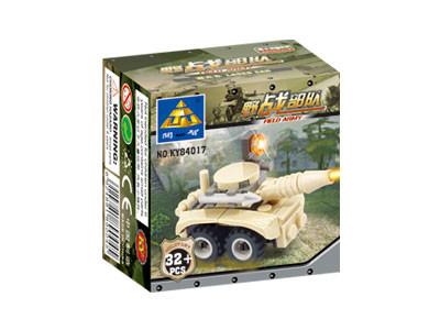 KAZI / GBL / BOZHI KY84017 Field Troops: Rocket Commando assault vehicles, wheeled combat vehicles, etc. 4 3