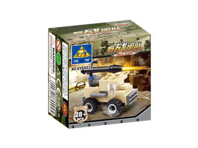KAZI / GBL / BOZHI KY84018 Field Troops: Rocket Commando assault vehicles, wheeled combat vehicles, etc. 4 5