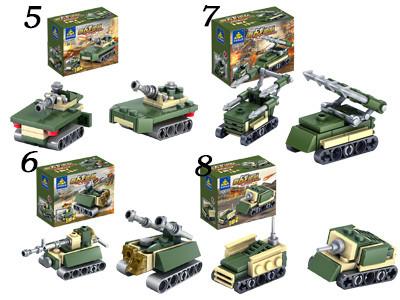 KAZI / GBL / BOZHI KY84053 Field Troops: Chariots 16 2
