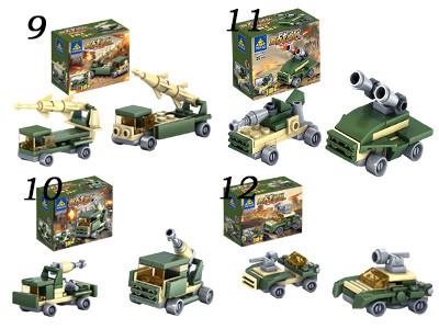 KAZI / GBL / BOZHI KY84053 Field Troops: Chariots 16 3