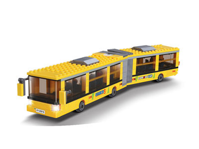 KAZI / GBL / BOZHI KY85015 City Bus: Mercedes-Benz Articulated Dragon Bus 1