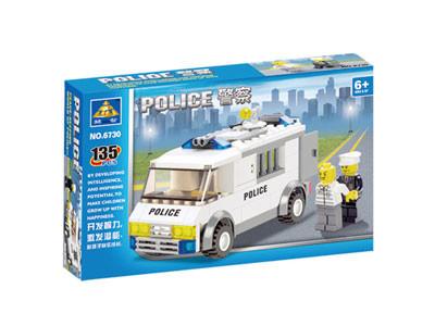 KAZI / GBL / BOZHI KY6730 Police prisoner car 1