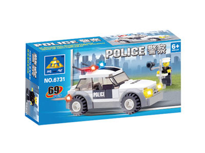 KAZI / GBL / BOZHI KY6731 Traffic Police 1