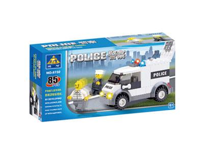 KAZI / GBL / BOZHI KY6732 Police petty prisoner's car 1