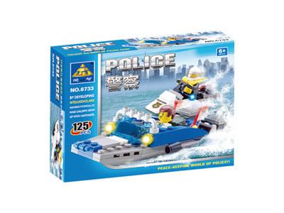 KAZI / GBL / BOZHI KY6733 Water Police Boat 1