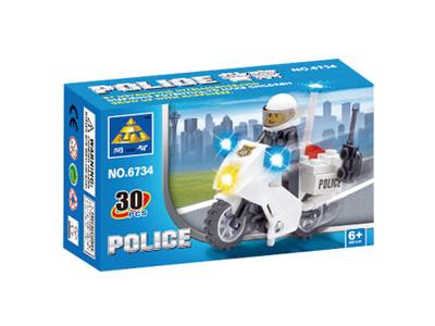 KAZI / GBL / BOZHI KY6734 Police motorcycle 1
