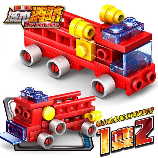 KAZI / GBL / BOZHI KY80511 City Fire: Fire Command 16 combinations 2