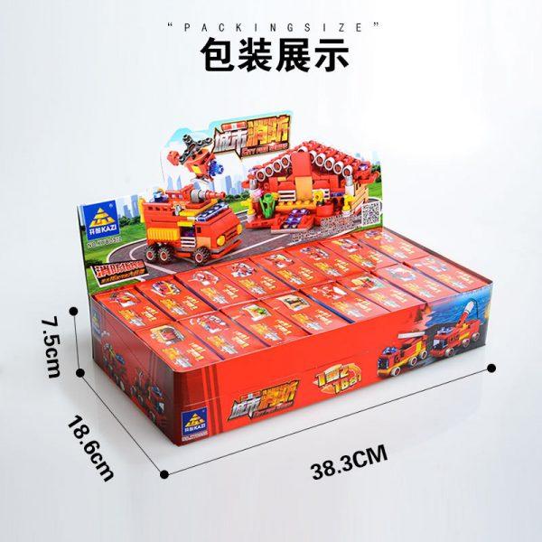 KAZI / GBL / BOZHI KY80511 City Fire: Fire Command 16 combinations 3