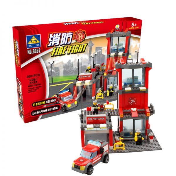 KAZI / GBL / BOZHI KY8052 Fire: Fire Department 1
