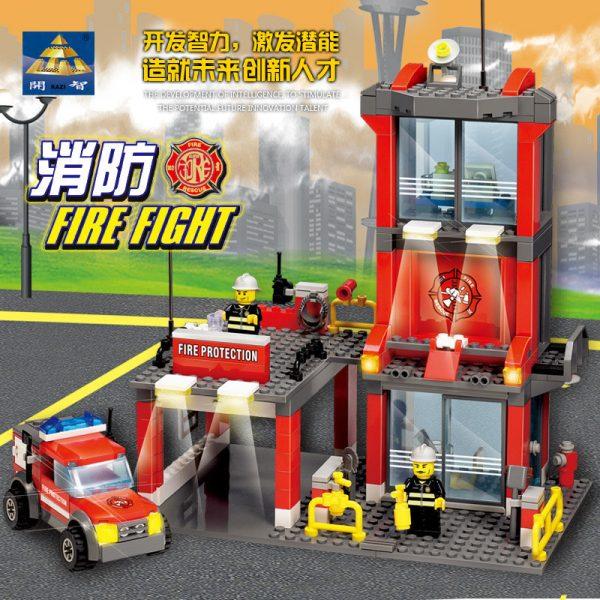 KAZI / GBL / BOZHI KY8052 Fire: Fire Department 2