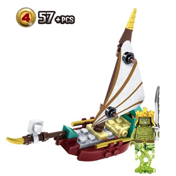 KAZI / GBL / BOZHI KY87024-4 Narnia Legends: Boat 6 2