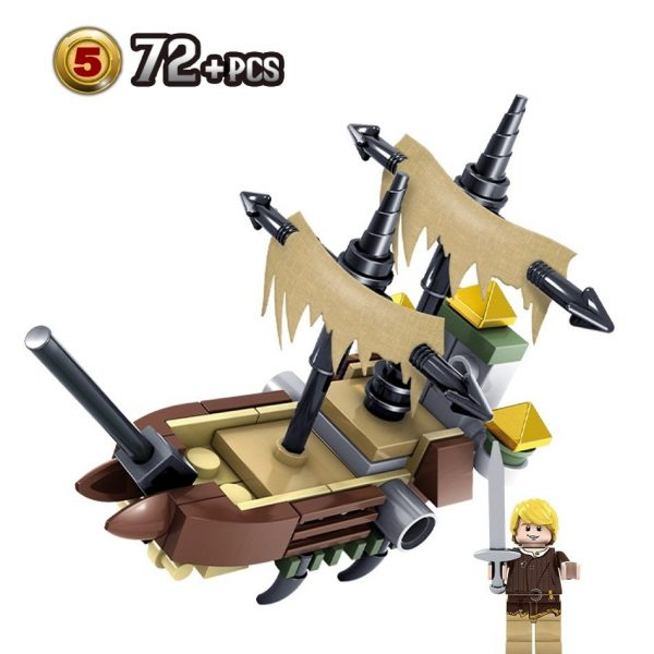 KAZI / GBL / BOZHI KY87024-3 Narnia Legends: Boat 6 3
