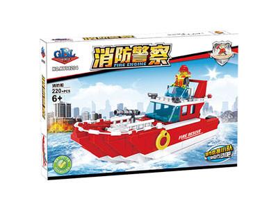 KAZI / GBL / BOZHI KY98204 Fire Police: Fire Boat 1