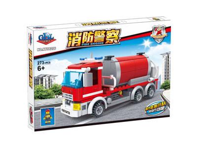 KAZI / GBL / BOZHI KY98206 Fire Police: Water Tanker 1