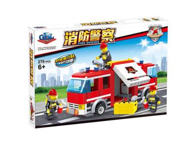 KAZI / GBL / BOZHI KY98207 Fire Police: Fire Trucks 1