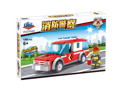KAZI / GBL / BOZHI KY98209 Fire Police: Fire Patrol Car 1