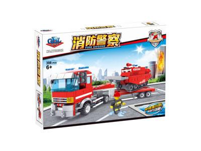 KAZI / GBL / BOZHI KY98212 Fire Police: Trailer 1