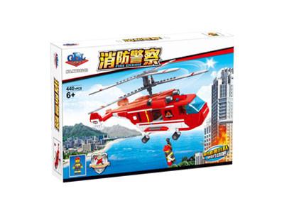 KAZI / GBL / BOZHI KY98213 Fire Police: Transport Helicopter 1