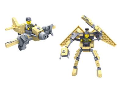 KAZI / GBL / BOZHI KY98111-4 Transformer Armor: Pioneer War Wing Condor, White Man's Heart, War God, Justice Allied Aurora, King of Land Warfare 2